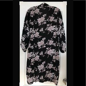 "Spiritual Gangster ""Maya"" Floral Kimono Robe"